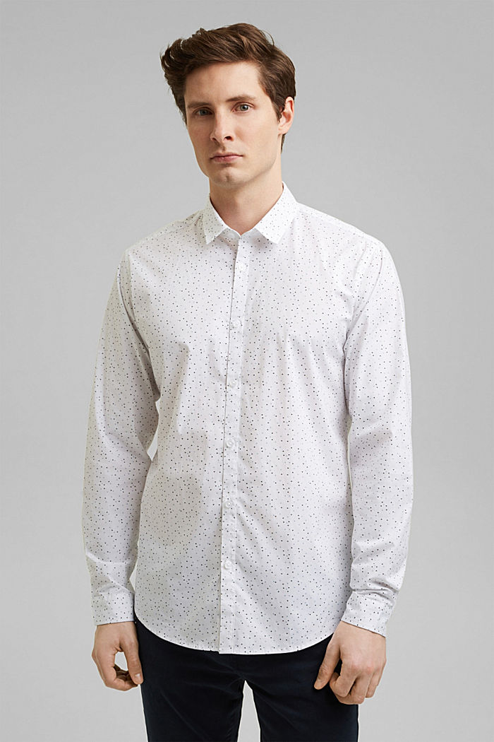 Recycled: COOLMAX® technology shirt, WHITE, detail image number 0