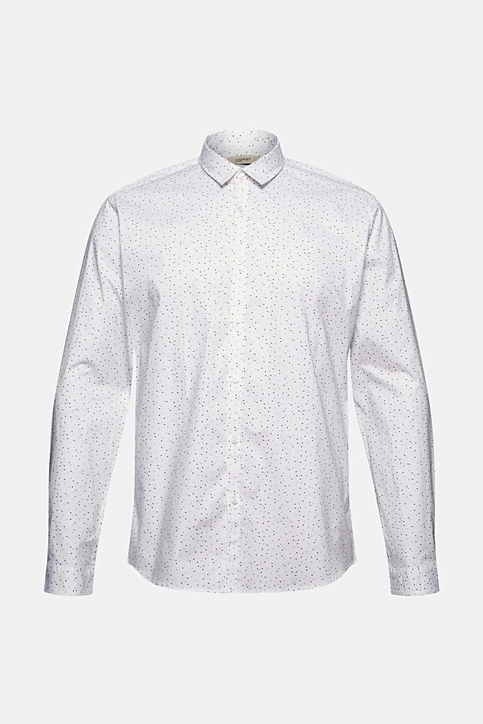 Recycled: COOLMAX® technology shirt, WHITE, detail image number 5