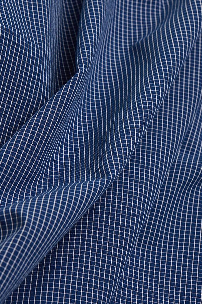 Check shirt made of 100% organic cotton, BLUE, detail image number 4