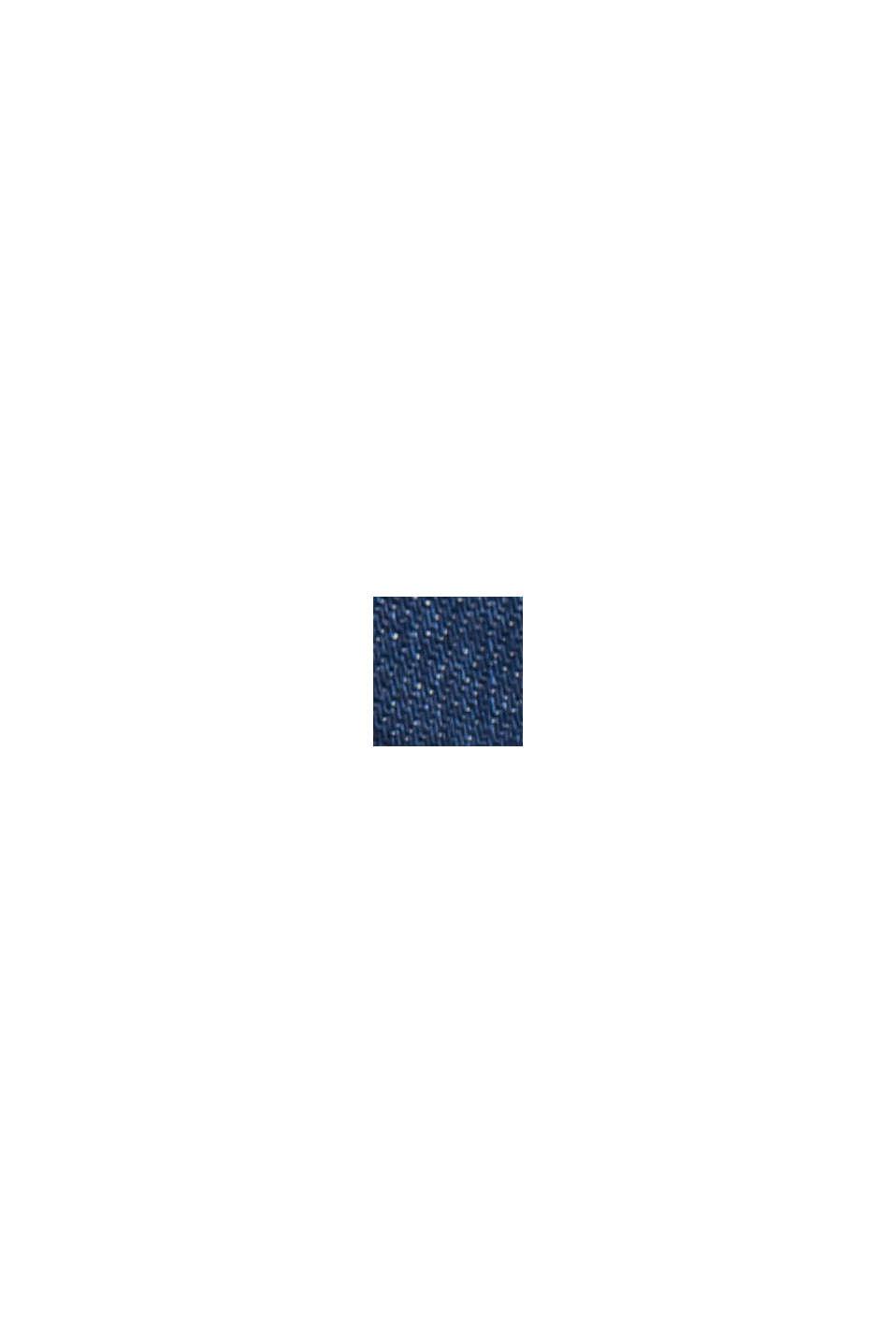 Recycelt: Overshirt mit Organic Cotton, BLUE RINSE, swatch