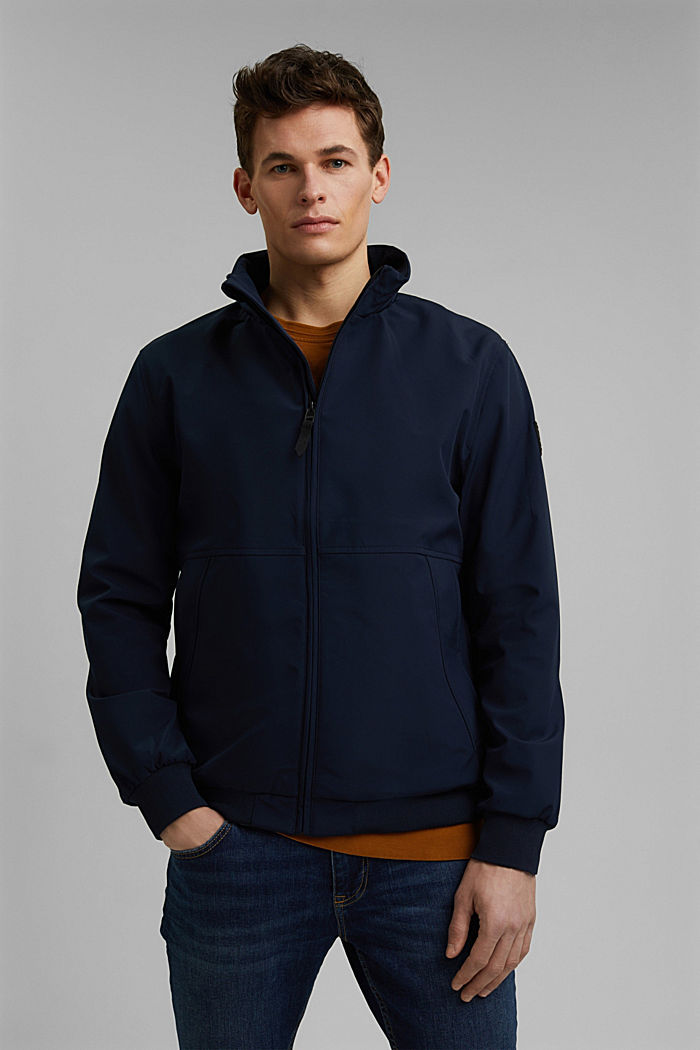 Jackets outdoor woven, DARK BLUE, detail image number 0