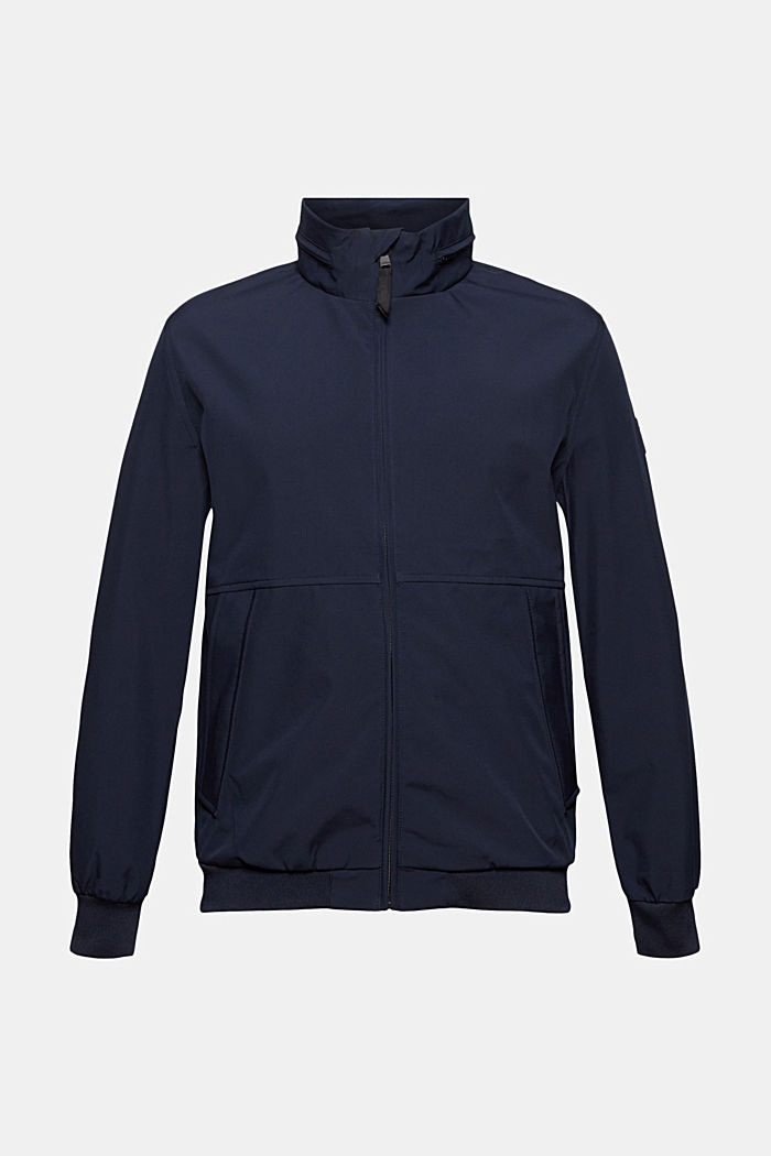 Jackets outdoor woven, DARK BLUE, detail image number 1