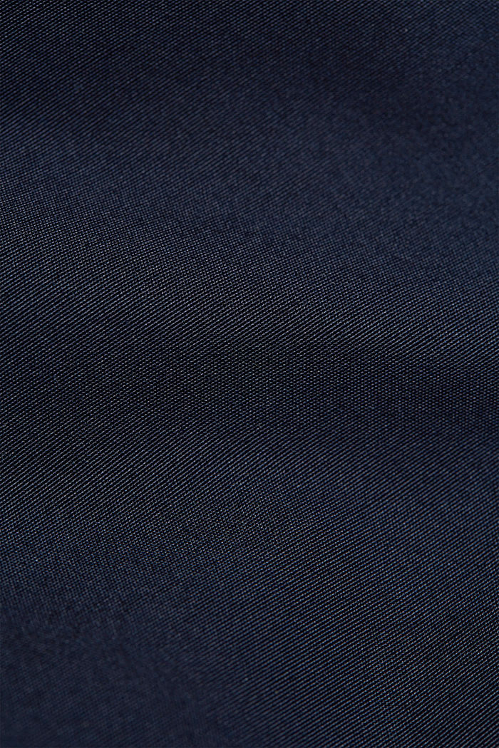 Recycled: Harrington jacket with checked lining, NAVY, detail image number 5