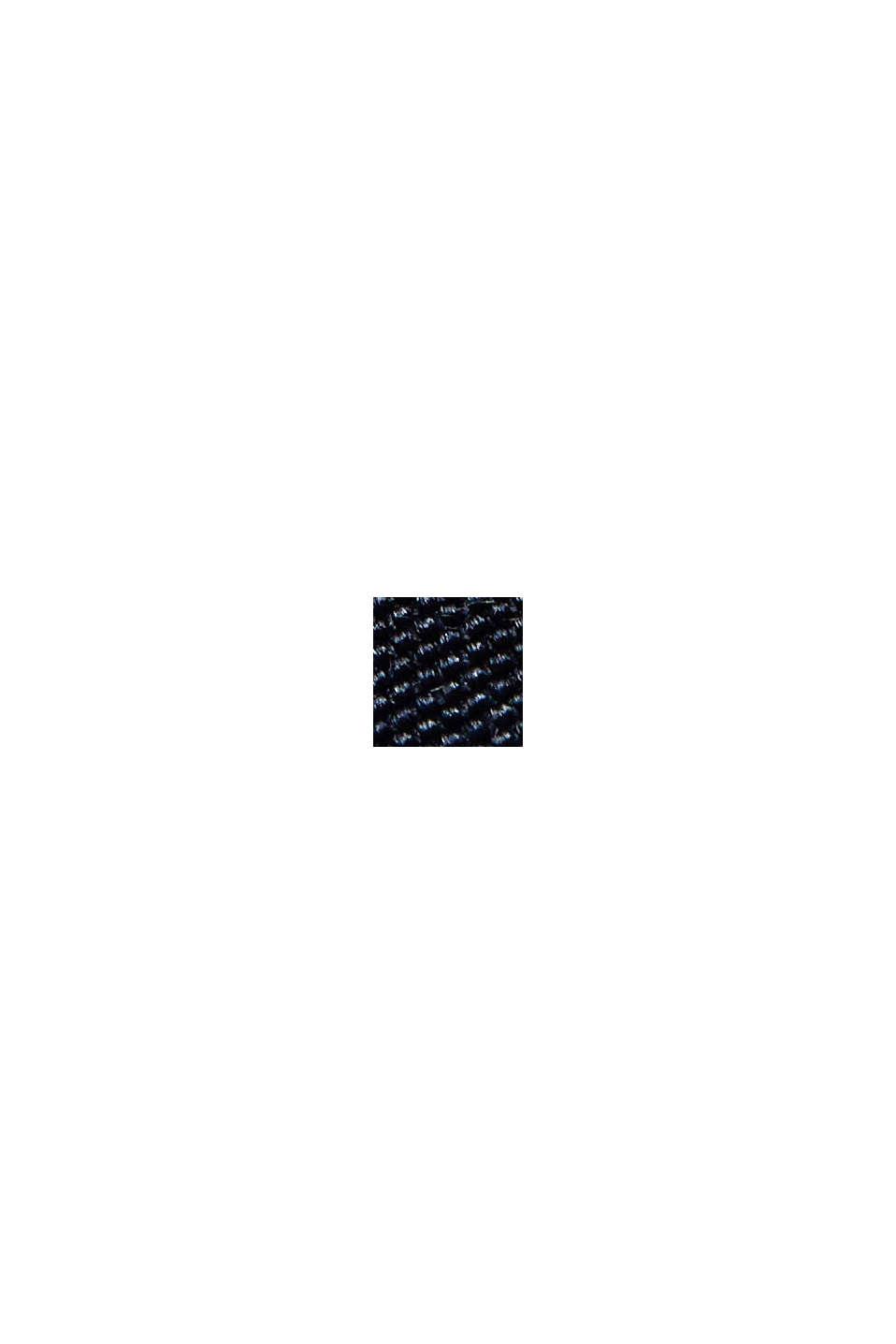 In materiale riciclato: giacca Harrington con fodera a quadri, NAVY, swatch