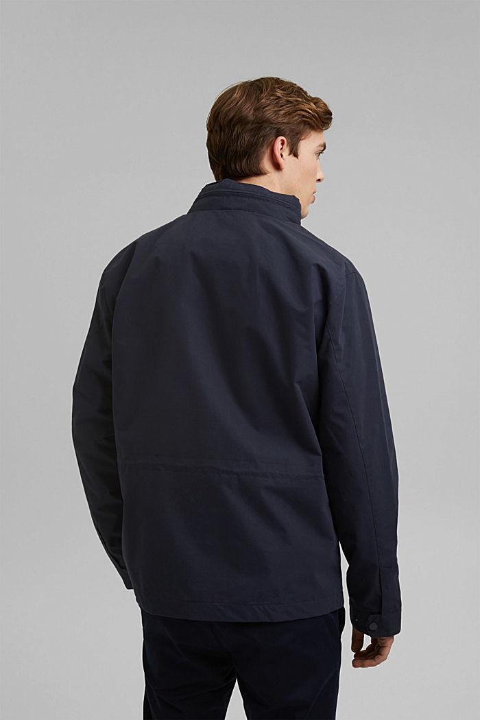 Recycled: Weatherproof field jacket, DARK BLUE, detail image number 3