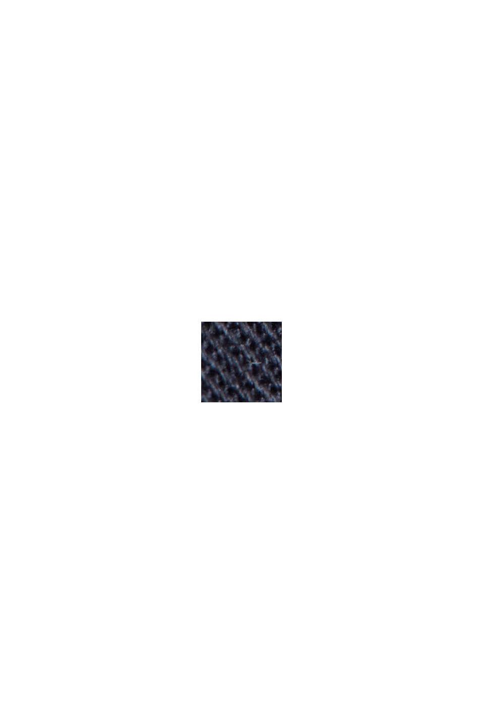 Cappotto estivo in cotone biologico, DARK BLUE, swatch
