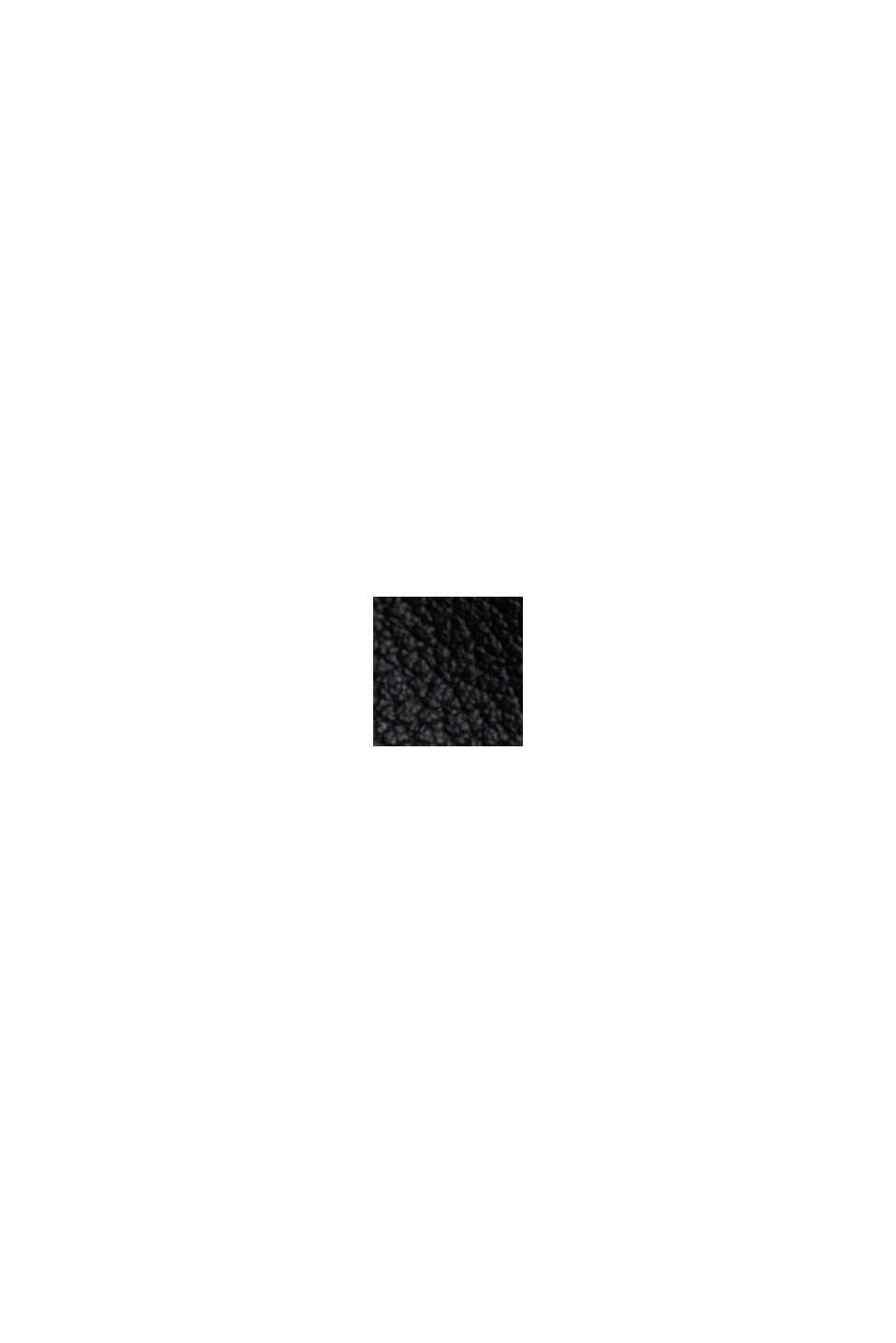 Giacca biker in 100% pelle, BLACK, swatch