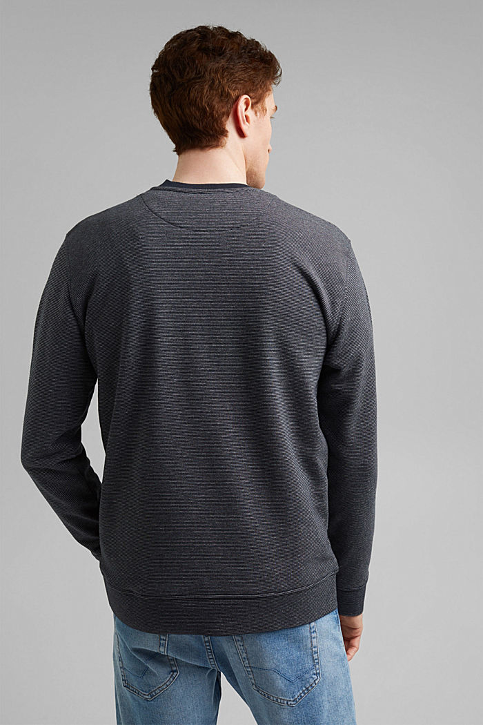 Recycled: organic cotton sweatshirt, NAVY, detail image number 3