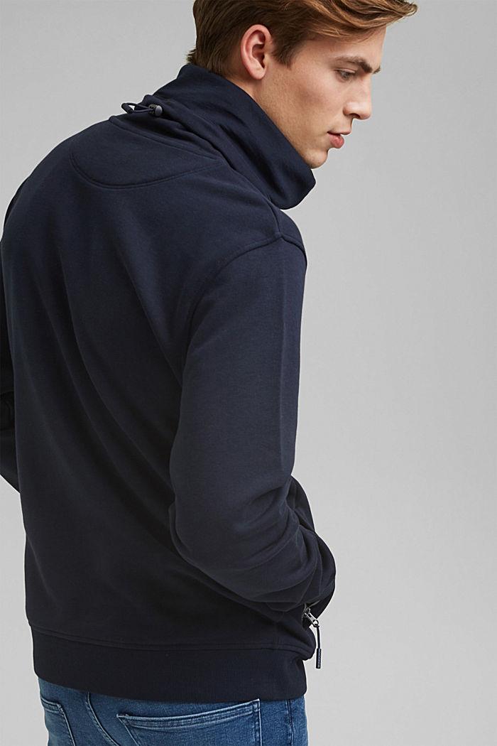 #ReimagineFlexibility: outdoor sweatshirt, NAVY, detail image number 3