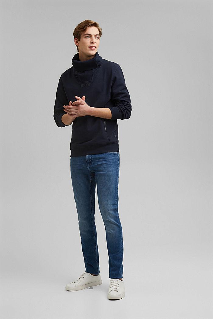 #ReimagineFlexibility: outdoor sweatshirt, NAVY, detail image number 4
