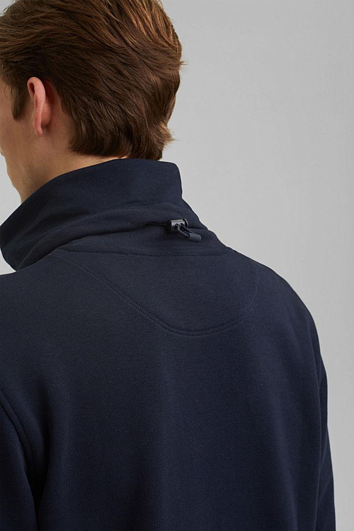 #ReimagineFlexibility: outdoor sweatshirt, NAVY, detail image number 7