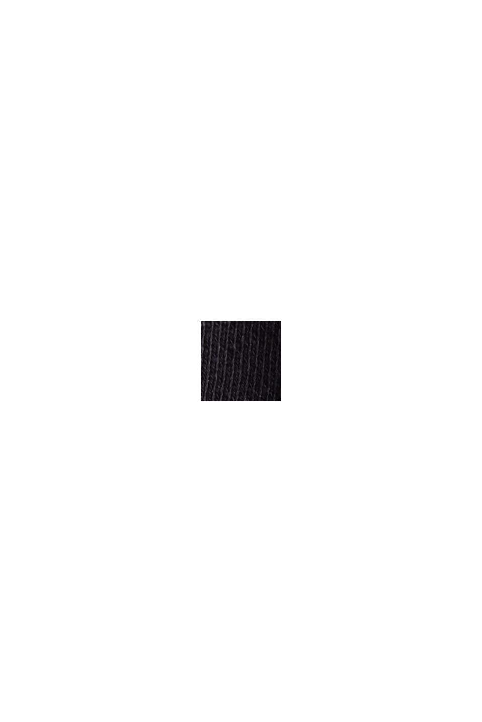 Sudadera en 100 % algodón ecológico, BLACK, swatch
