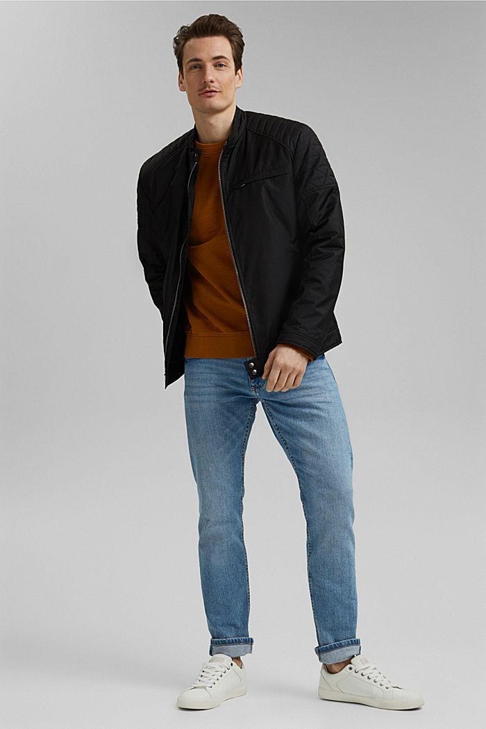 Sweatshirt made of 100% organic cotton, CAMEL, detail image number 1