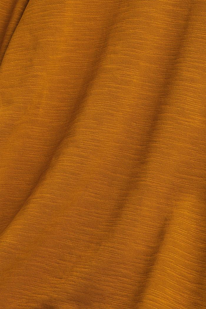 Sweatshirt aus 100% Organic Cotton, CAMEL, detail image number 5