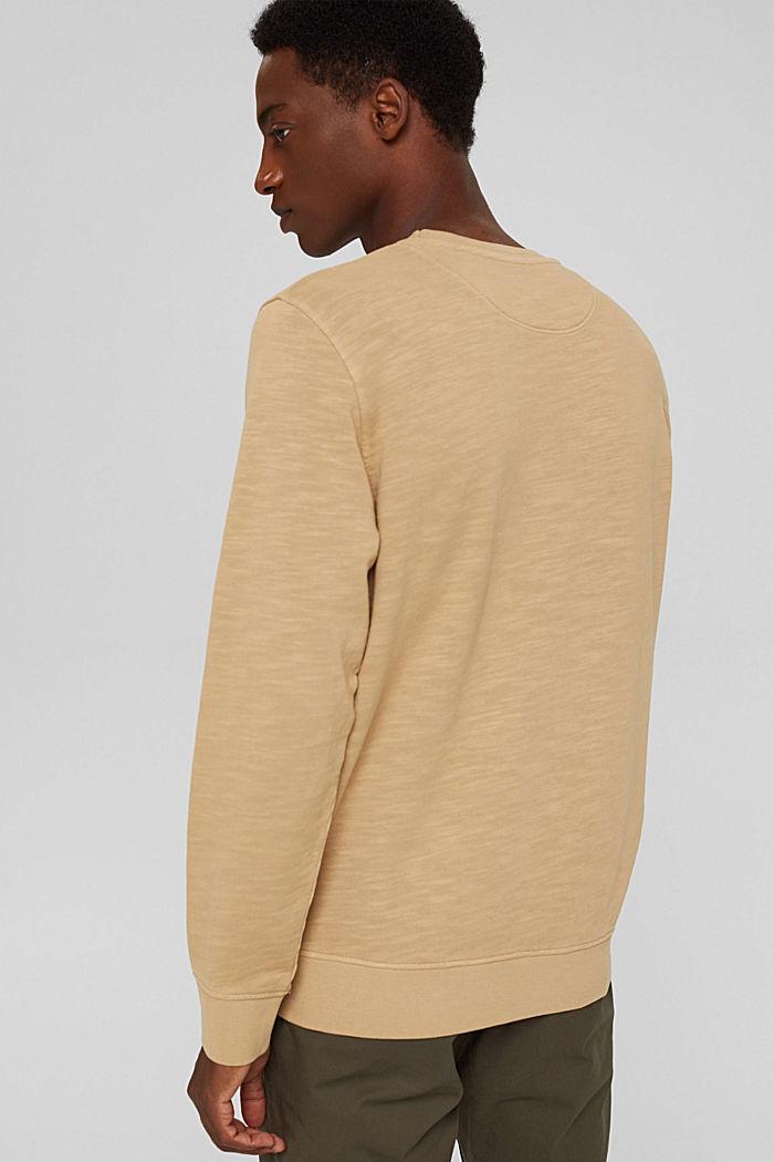 Sweatshirt made of 100% organic cotton, BEIGE, detail image number 3