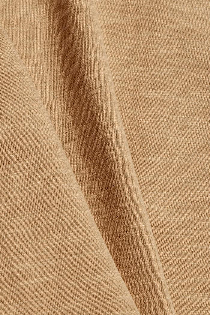 Sweatshirt made of 100% organic cotton, BEIGE, detail image number 5
