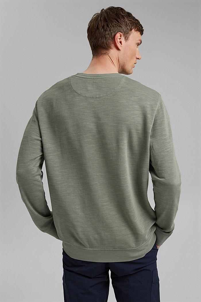 Sweatshirt made of 100% organic cotton, LIGHT KHAKI, detail image number 3