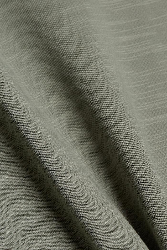 Sweatshirt made of 100% organic cotton, LIGHT KHAKI, detail image number 5