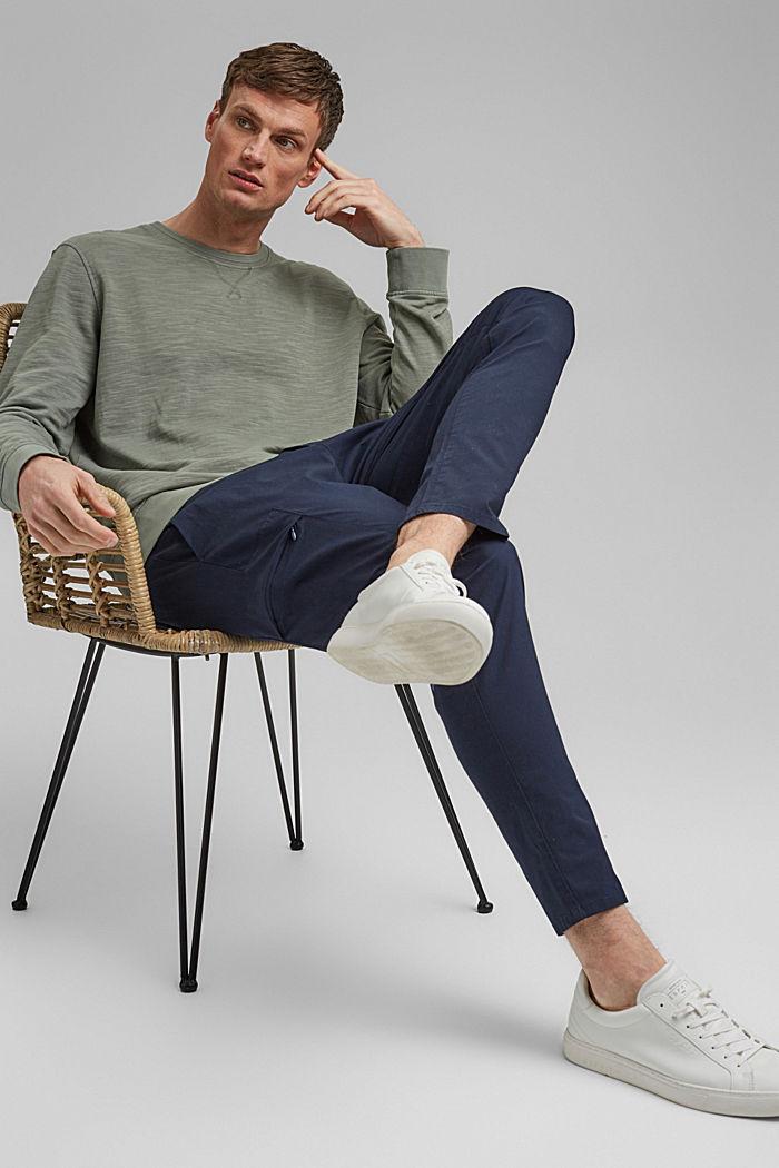 Sweatshirt made of 100% organic cotton, LIGHT KHAKI, detail image number 6