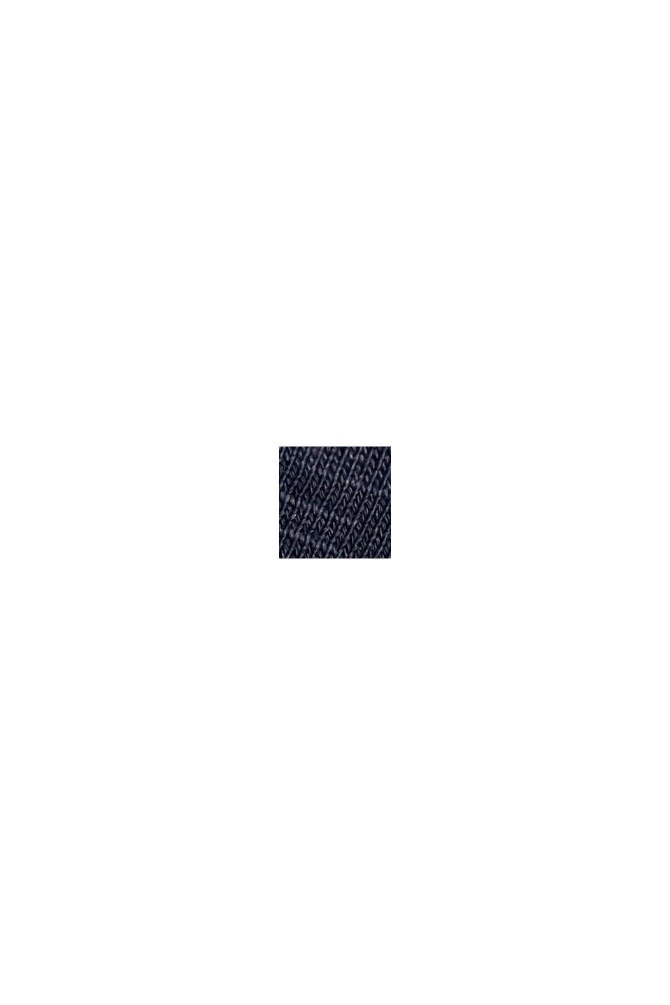 Sudadera en 100 % algodón ecológico, NAVY, swatch