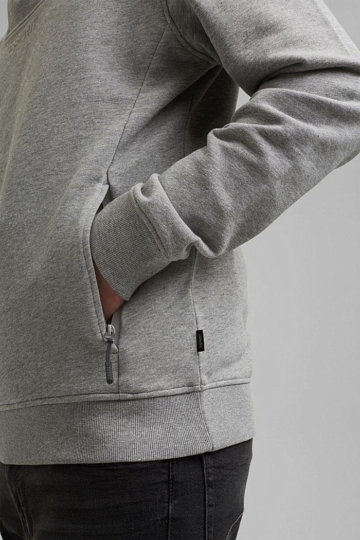 #ReimagineFlexibility: Outdoor-Sweatshirt, MEDIUM GREY, detail image number 2