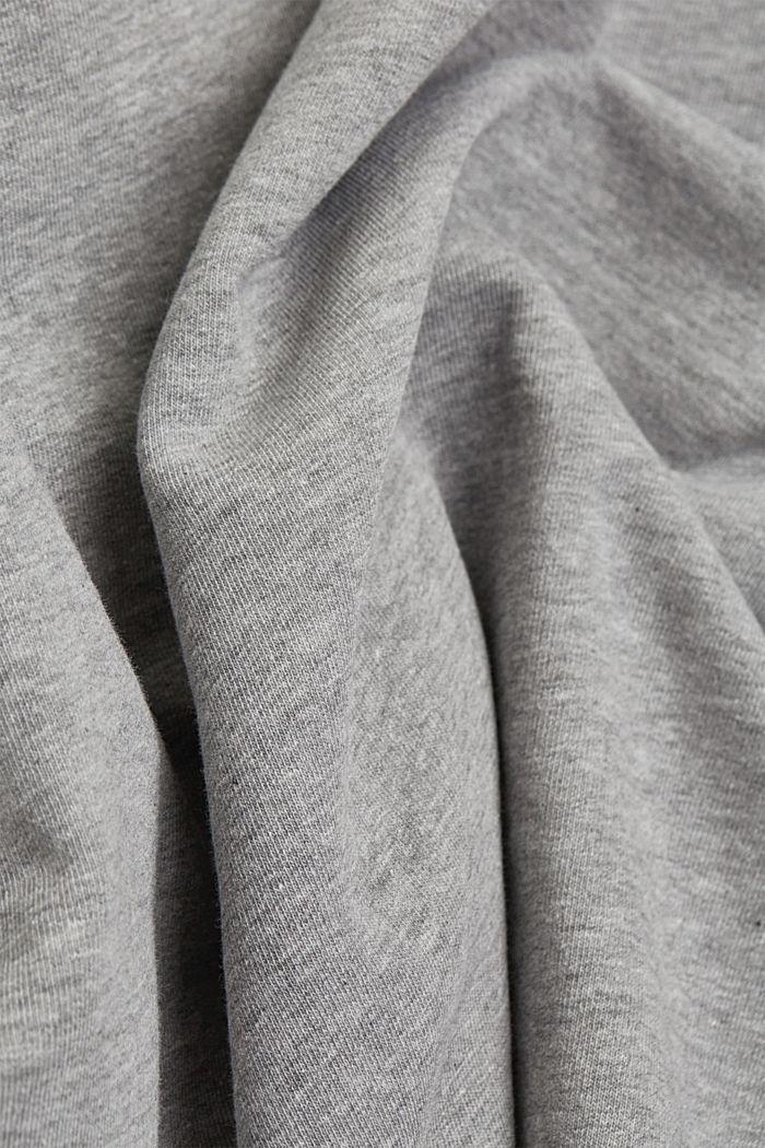 #ReimagineFlexibility: Outdoor-Sweatshirt, MEDIUM GREY, detail image number 5