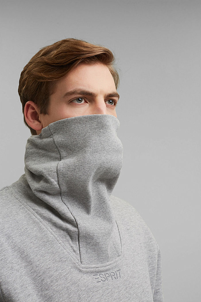 #ReimagineFlexibility: outdoor sweatshirt, MEDIUM GREY, detail image number 7