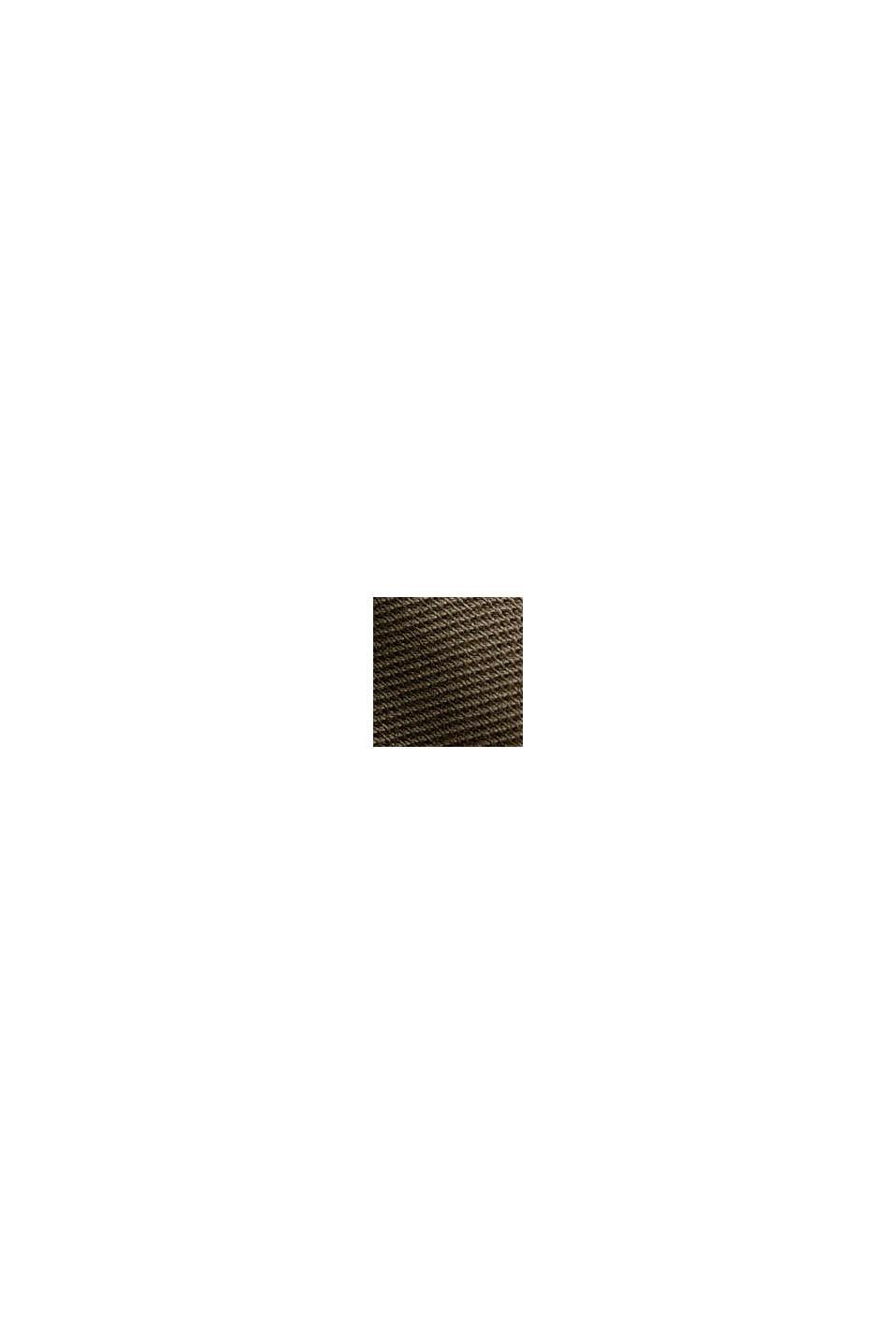 Piqué-Polo aus 100% Bio-Baumwolle, DARK KHAKI, swatch