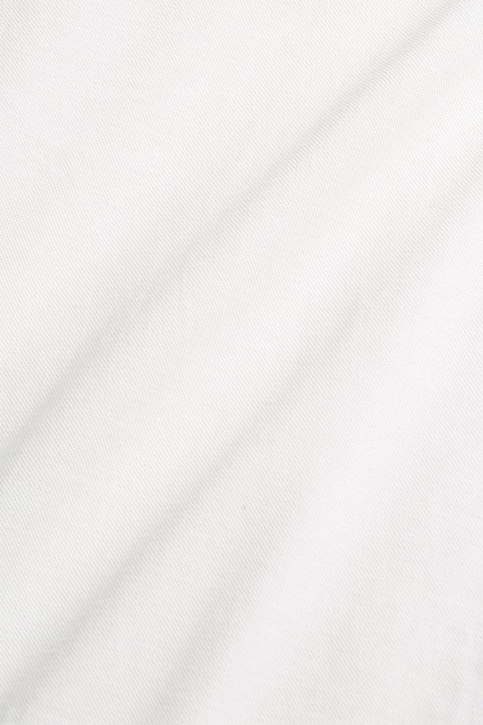 Piqué-Polo aus 100% Organic Cotton, OFF WHITE, detail image number 4