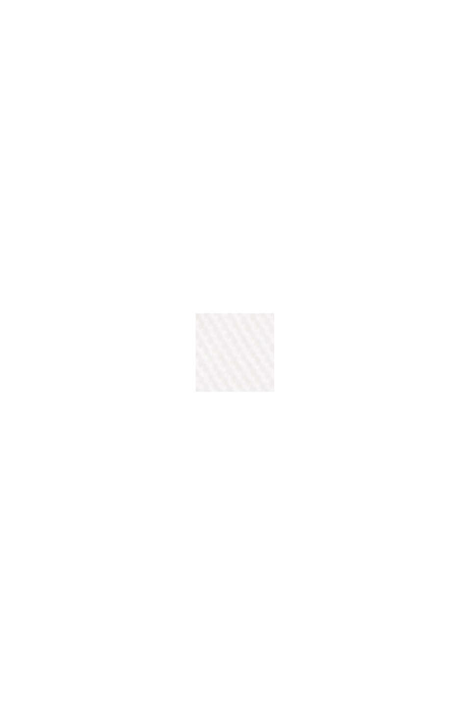 Polo en maille piquée, 100% coton biologique, OFF WHITE, swatch