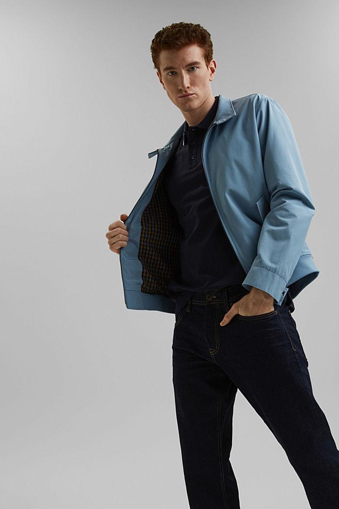 Piqué polo shirt made of 100% organic cotton