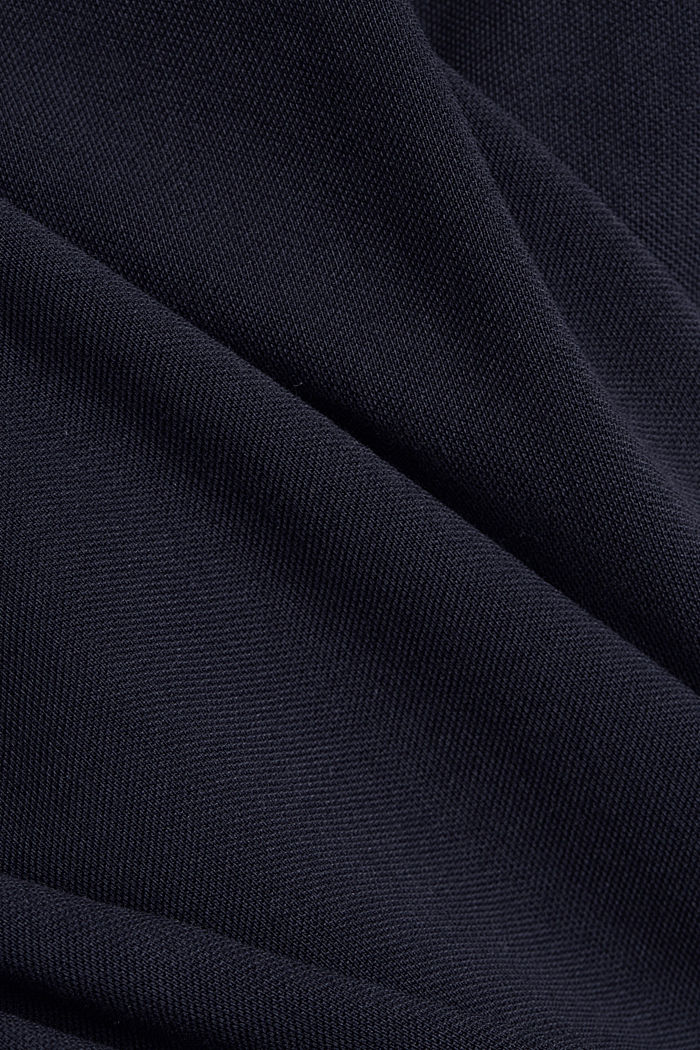 Piqué polo shirt made of 100% organic cotton, NAVY, detail image number 5