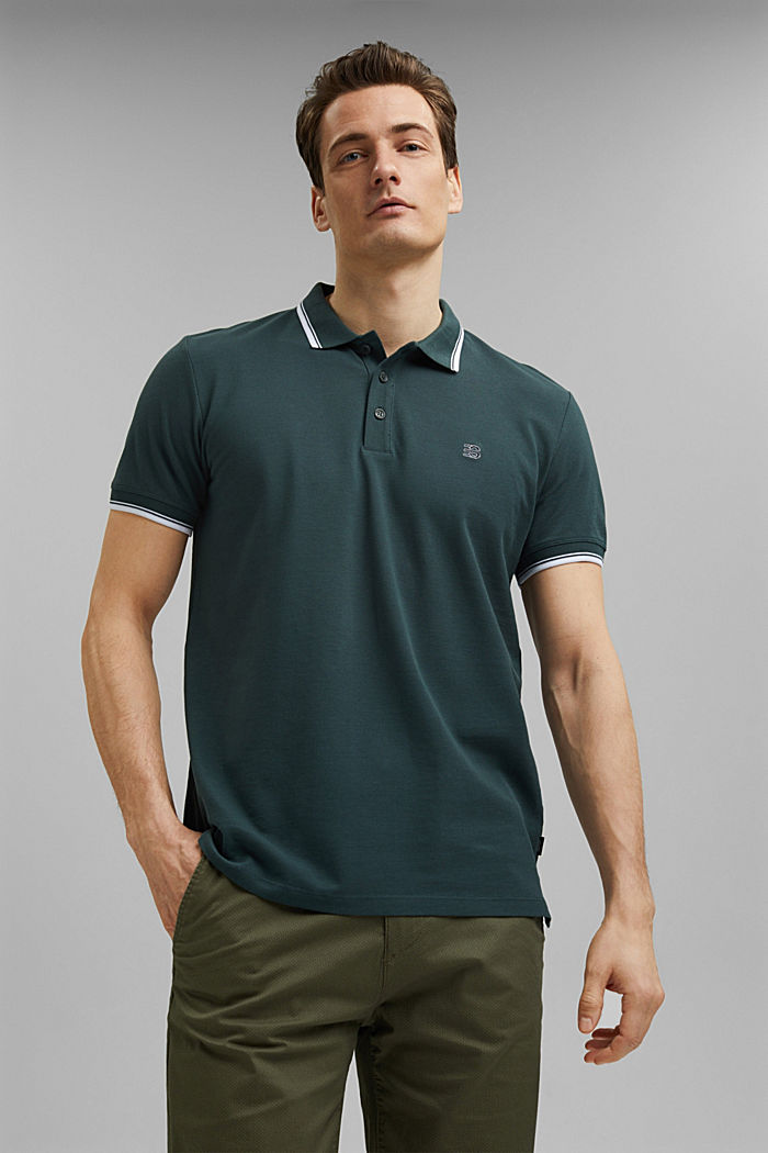 Piqué-Polo aus 100% Organic Cotton