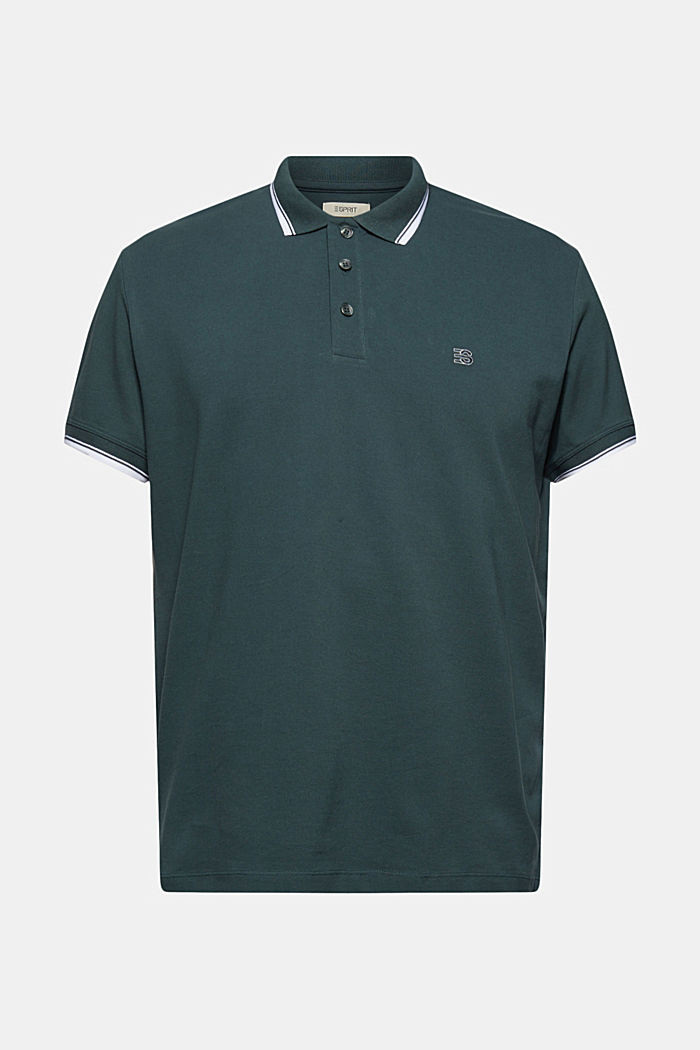 Piqué polo shirt made of 100% organic cotton