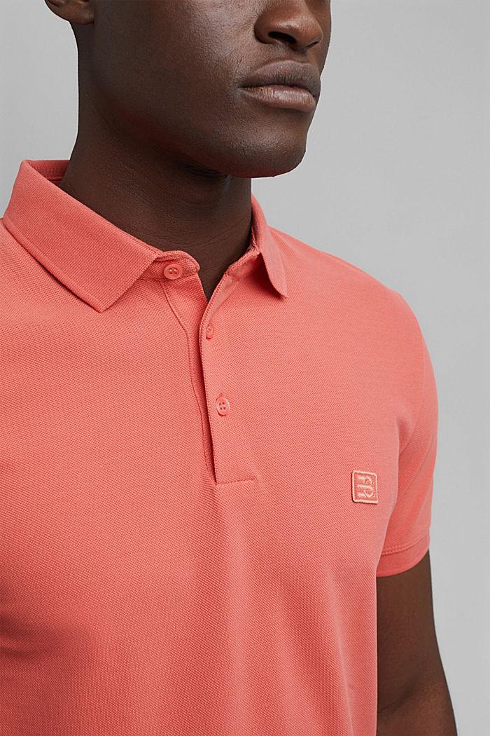 Piqué-Polo aus 100% Bio-Baumwolle