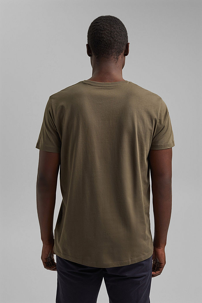 T-Shirts, DARK KHAKI, detail image number 3
