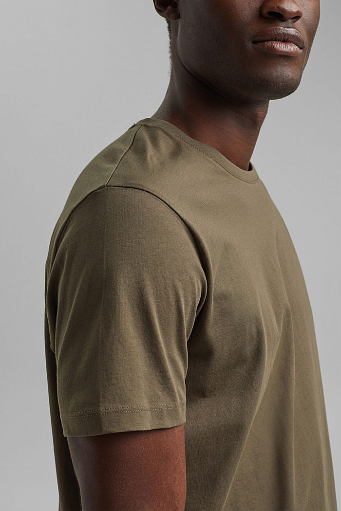 T-Shirts, DARK KHAKI, detail image number 1