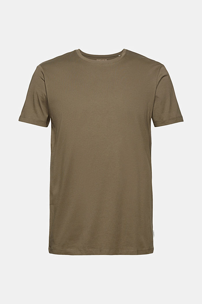 T-Shirts, DARK KHAKI, detail image number 7