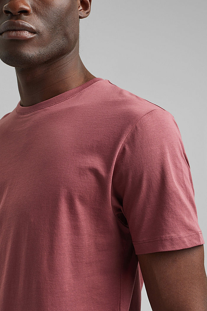 T-Shirts, BERRY RED, detail image number 1