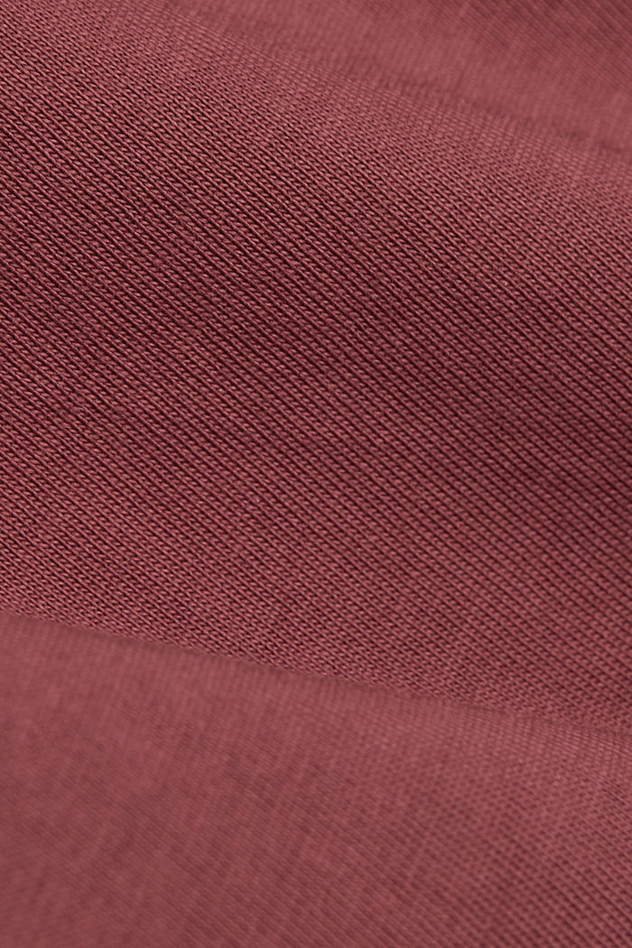 T-Shirts, BERRY RED, detail image number 4