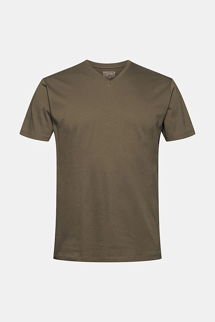 T-Shirts, DARK KHAKI, overview