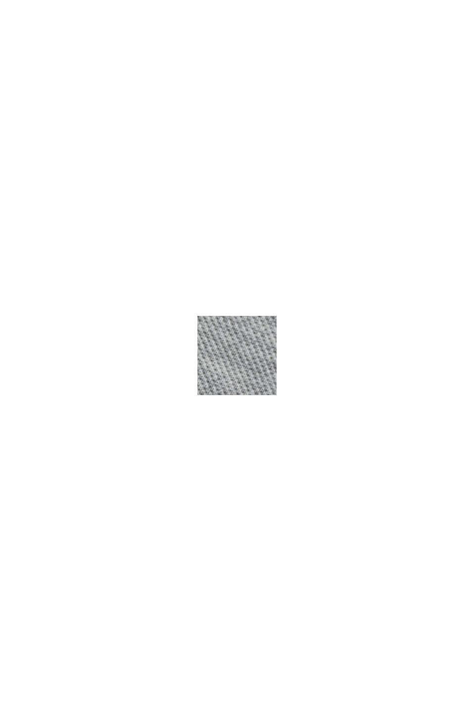Piqué-Polo aus 100% Bio-Baumwolle, LIGHT GREY, swatch