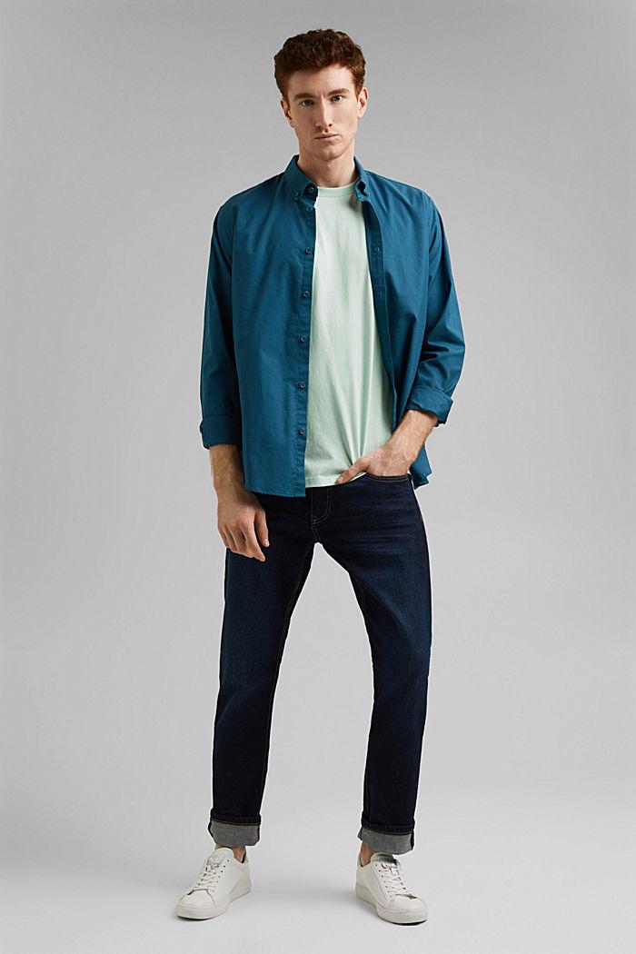 Jersey T-shirt van 100% organic cotton, PASTEL GREEN, detail image number 2