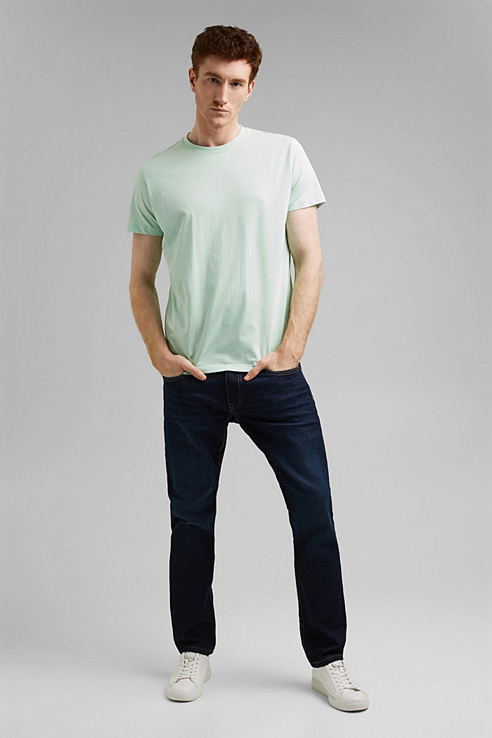 Jersey-T-Shirt aus 100% Organic Cotton, PASTEL GREEN, detail image number 5