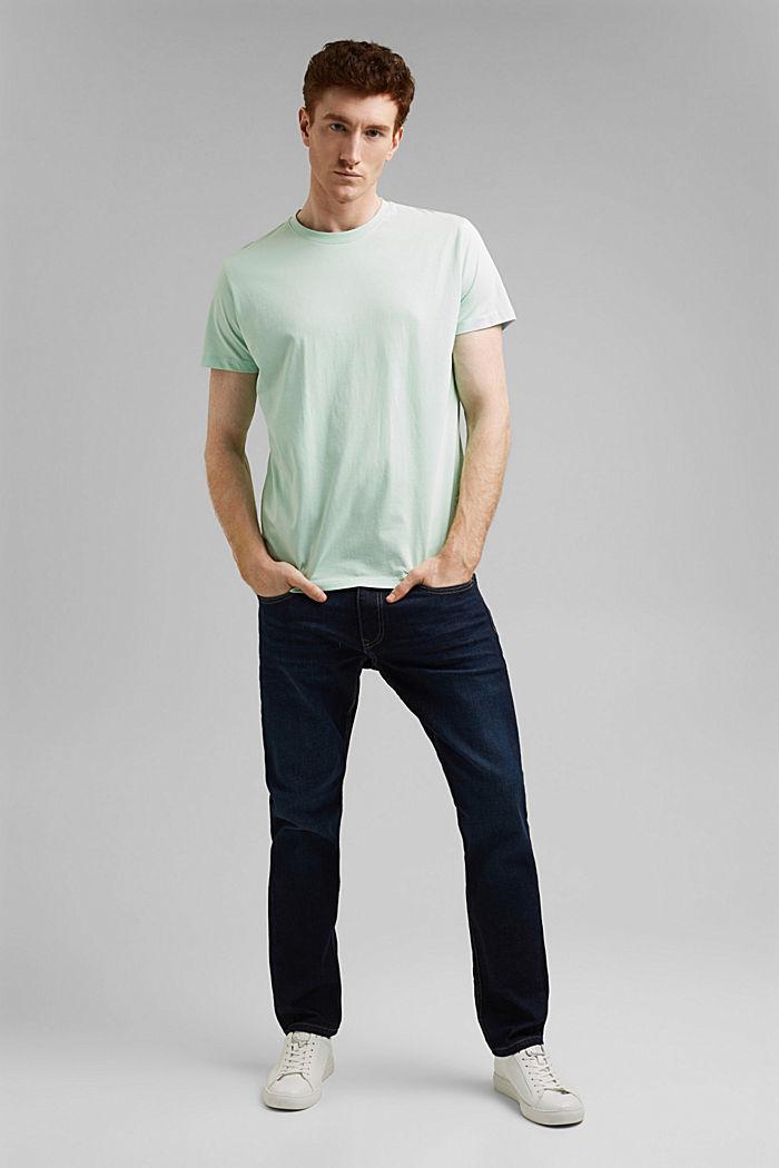 Jersey T-shirt van 100% organic cotton, PASTEL GREEN, detail image number 5