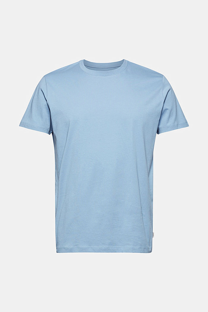 T-shirt av jersey i 100% ekologisk bomull