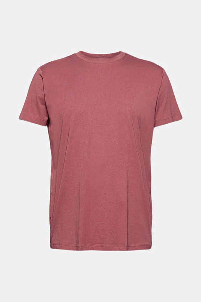 Jersey-T-Shirt aus 100% Organic Cotton, BERRY RED, detail image number 6
