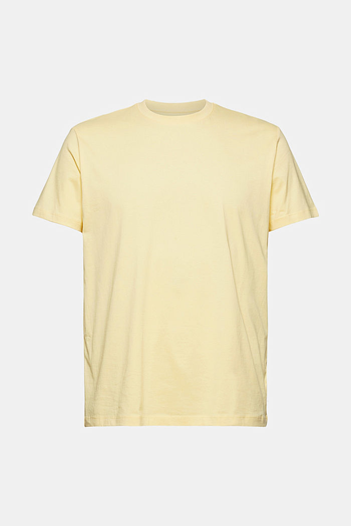 Jersey T-shirt made of 100% organic cotton, LIGHT YELLOW, detail image number 6