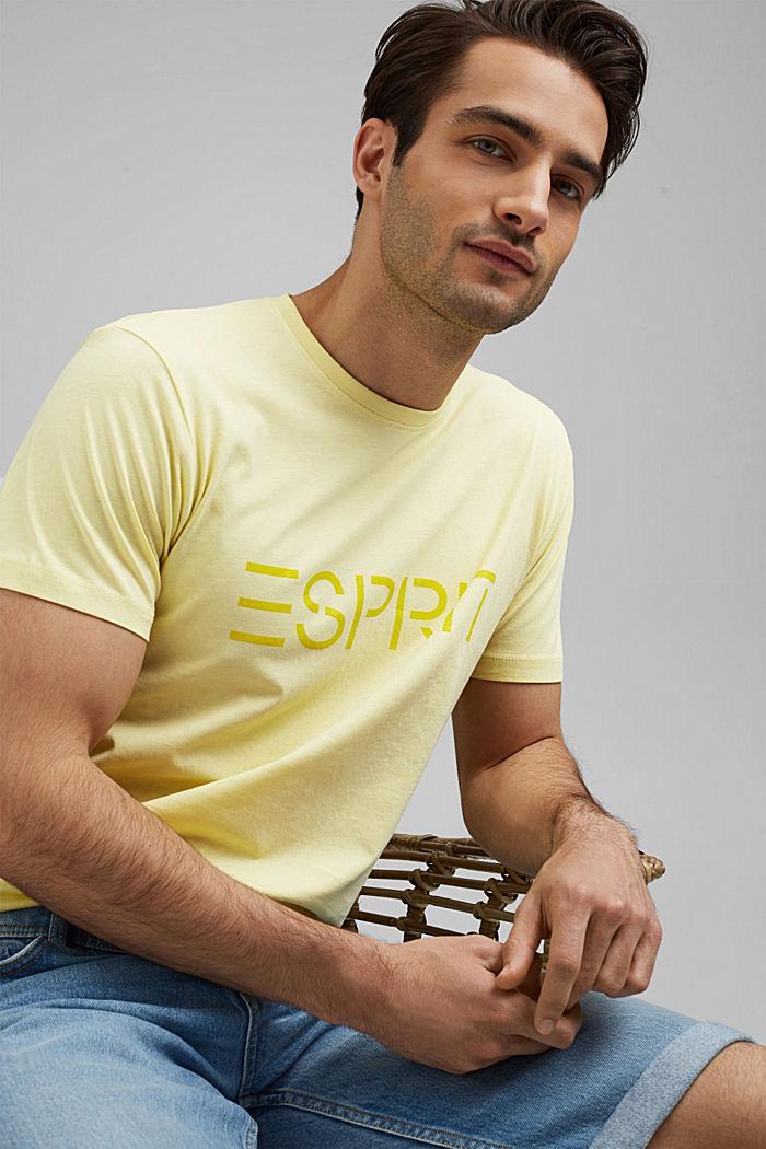 T-shirt en jersey de coton biologique, orné du logo