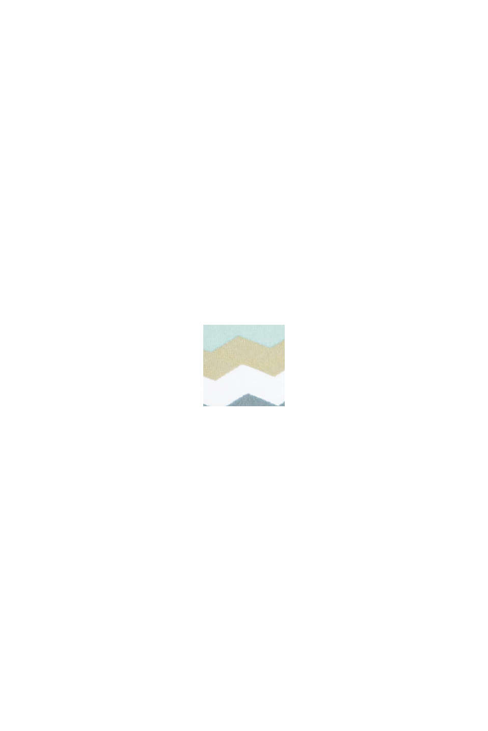 Recycelt: wattiertes Neckholder-Top, LIGHT KHAKI, swatch